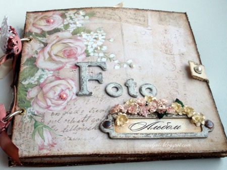 Tweet.  Scrapbooking is a method for preserving personal and family history in the form of a scrapbook.